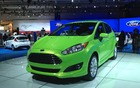 The 2013 Ford Fiesta has been slightly restyled
