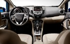 2014 Ford Fiesta: Leather seats and steering wheel on high-end trims