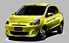 The Mitsubishi Mirage city car would offer excellent fuel consumption from a three-cylinder engine.
