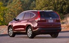 The 2013 CR-V features distinctive tail lights mounted high on either side of the liftgate.