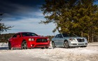 Dodge Charger AWD Sport et Chrysler 300 Glacier 2013