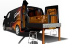 Nissan NV200 Mobile Guitar Workshop