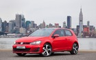 The 2015 Volkswagen Golf in GTI trim.