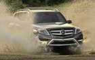 The 2013 Mercedes-Benz GLK350 4MATIC.