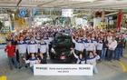 """""""Exportation de la Yaris 2013 de TMMF vers l'Amérique du Nord (Groupe CNW/Toyota Canada Inc.)""""."""