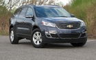 The Chevrolet Traverse, curvaceous, sleek and discreet