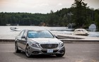 2014 Mercedes-Benz S-Class - In Ontario's Muskoka region.