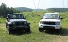 Jeep Wrangler Rubicon et Land Rover LR4. Le primitif et l'aristocrate...