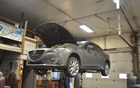 The Mazda3 ready to strut its stuff!