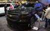 Chevrolet Tahoe Black Concept at the 2013 SEMA Show