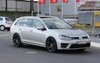 Golf R Estate, undergoing testing on the Nürburgring