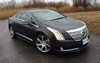 The Cadillac ELR is a real looker, even in the rain in Montérégie.