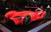 The Toyota FT-1, the star of a very urbane event in New York.