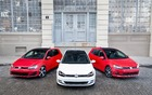 The three models on offer: GTI, TSI and TDI