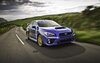 Subaru Impreza WRX STI at the Isle of Man TT