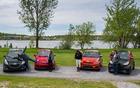 Chevrolet Spark, Kim Malczewski, Fiat 500, Marie-France Rock, Karine Phaneuf, Scion iQ, Sylvie René, smart.