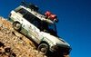 One of the Great Divide Expedition Range Rovers