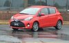 The 2015 Yaris has an all-new look.