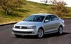 The 2015 Jetta features a new grille and optional xenon headlights.
