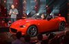 Derek Jenkins, Director of Design, presenting the new 2016 Mazda MX-5.