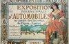 L'exposition internationale d'automobile, du cycle et des sports; la première affiche