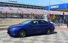 Toyota introduced its new Camry on the track in Charlotte, North Carolina.