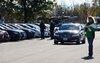 AJAC 2013: Au Testfest, les voitures sont alignées, prêtes pour être essayées.