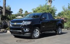 The Chevrolet Canyon has a more subdued look than the Colorado.