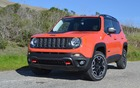 The Renegade's style includes the Jeep family's dominant traits.