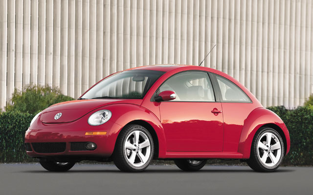 volkswagen new beetle 2008