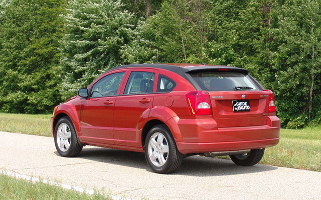 2009 dodge caliber tests news photos videos and. Black Bedroom Furniture Sets. Home Design Ideas