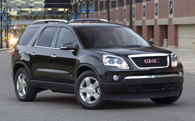 2009 gmc acadia tests news photos videos and wallpapers the car guide. Black Bedroom Furniture Sets. Home Design Ideas