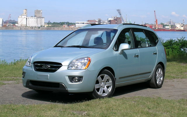 2009 Kia Rondo - Tests, news, photos, videos and wallpapers - The Car ...