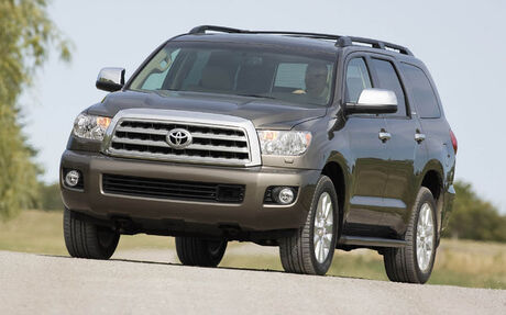 2009 toyota sequoia tests news photos videos and wallpapers the car guide. Black Bedroom Furniture Sets. Home Design Ideas