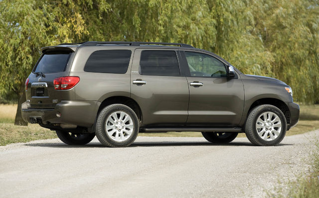 Toyota Sequoia 1 600x0w Jpg Pictures to pin on Pinterest