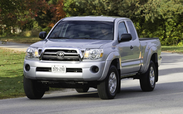 Tacoma V6 Towing Capacity >> 2010 Toyota Tacoma - Tests, news, photos, videos and ...