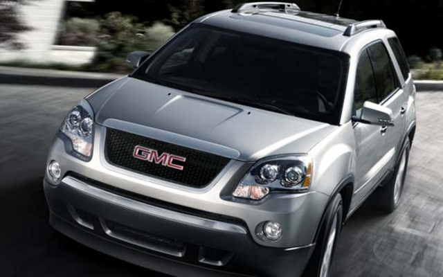 2011 gmc acadia tests news photos videos and wallpapers the car guide. Black Bedroom Furniture Sets. Home Design Ideas