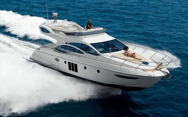 "... yacht's ""solar"" personality with its sun-pad accommodating two people"