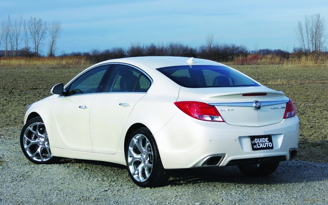 2013 buick regal tests news photos videos and wallpapers the car guide. Black Bedroom Furniture Sets. Home Design Ideas