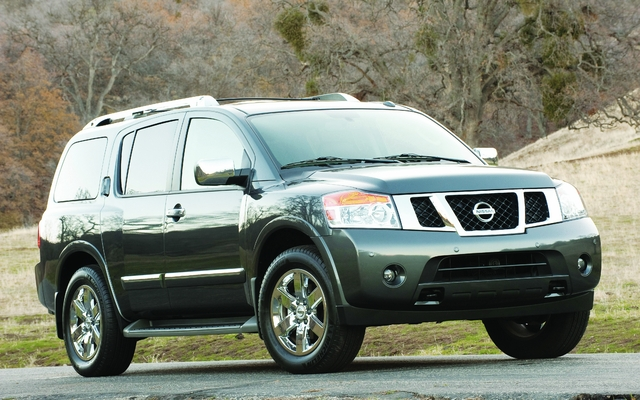 2013 Nissan Armada Platinum 8 Pass Price Engine