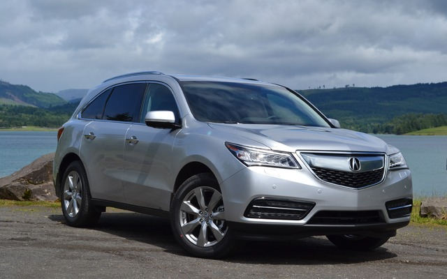 2016 acura mdx tests news photos videos and. Black Bedroom Furniture Sets. Home Design Ideas