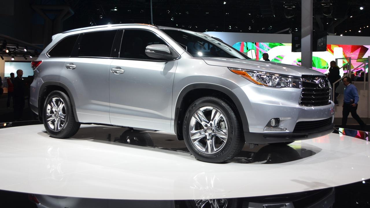 Toyota All New 2014 Toyota Highlander Suv Makes World ...