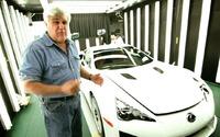Jay Leno drives Lexus LFA Spyder