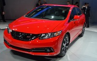 La présentation de la Honda Civic 2013
