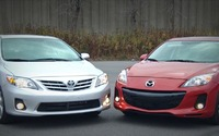 Comparison Review 2013 Mazda3 vs Toyota Corolla