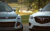 Comparison Review 2013 Mazda CX-5 vs Ford Escape