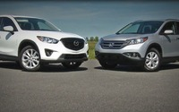 Comparison Review 2013 Mazda CX-5 vs Honda CR-V