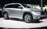 Le Toyota Highlander 2014 au Salon de New York 2013