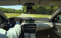 2014 BMW 530d Sedan Driving Footage
