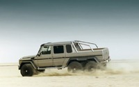 2013 Mercedes-Benz G 63 AMG 6x6 Showcar Trailer